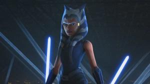 "Ahsoka Confronts Maul in ""Star Wars: The Clone Wars"""
