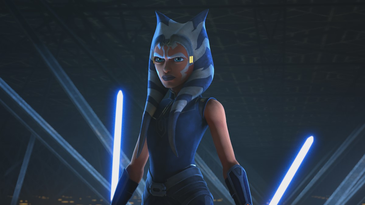 "Ahsoka Confronts Maul in ""Star Wars: The Clone Wars"""