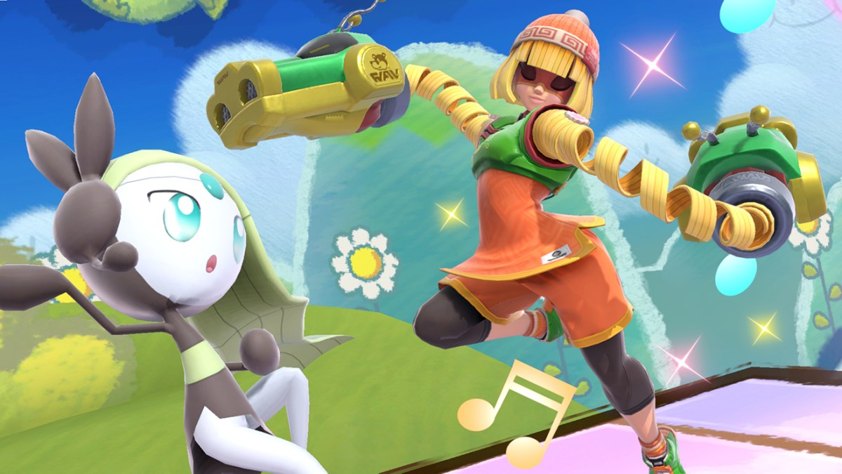 Min Min is the 81st video game character included as a playable fighter in Super Smash Bros. Ultimate, with a roster representing one of the largest crossovers of video game characters in history.