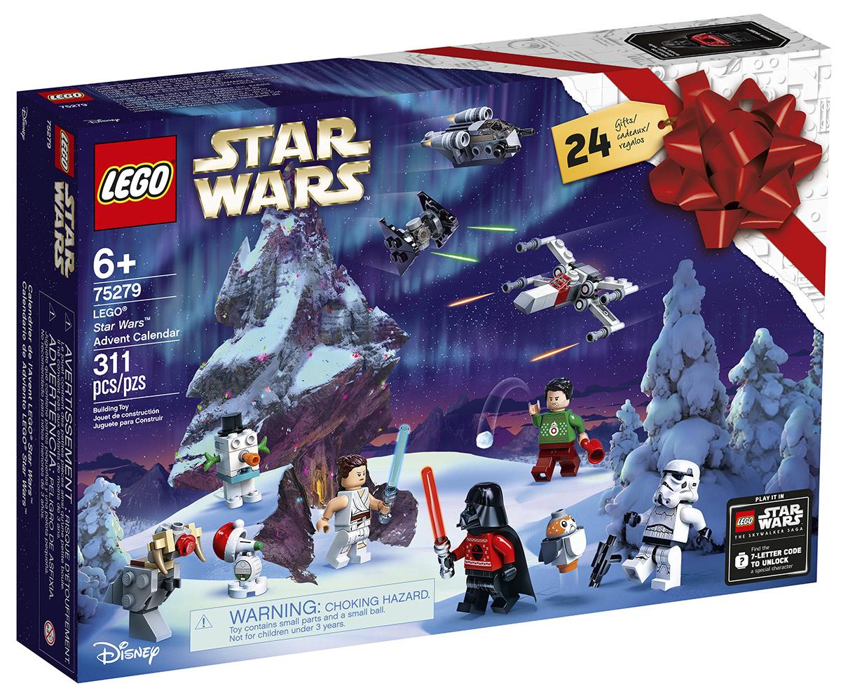 LEGO Star Wars Advent Calendar (Includes Unlock Code)