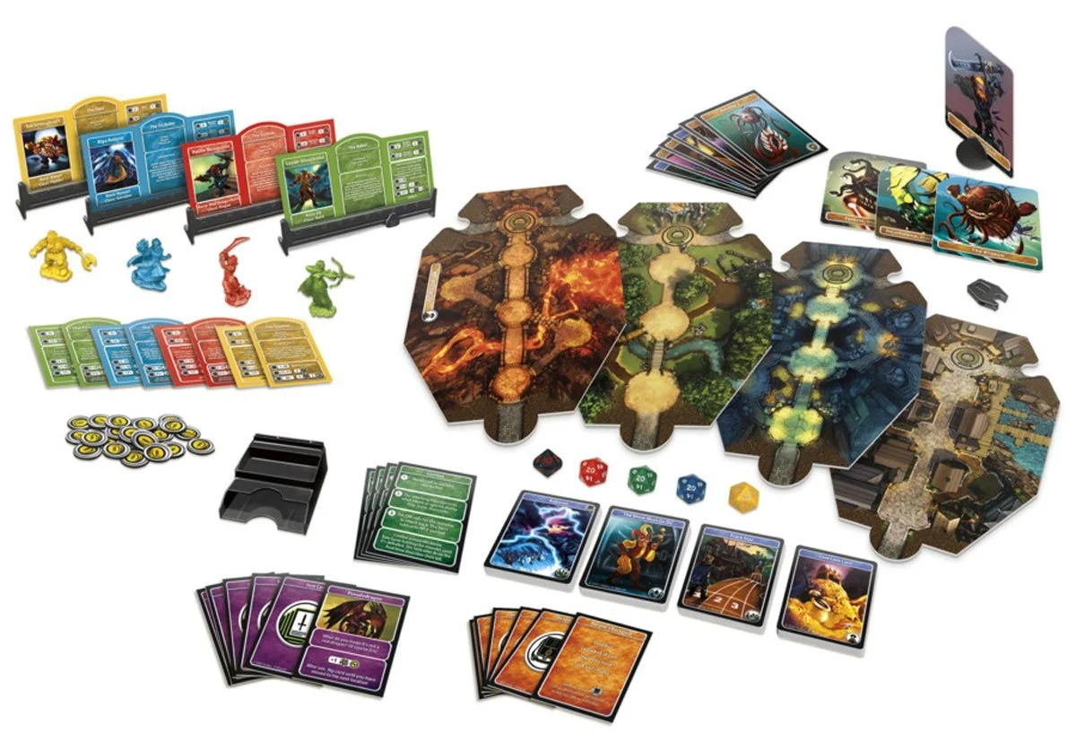 D&D 'Adventure Begins' board game provides new entry for RPG world