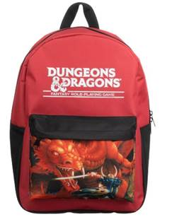 D&D Red Dragon Backpack