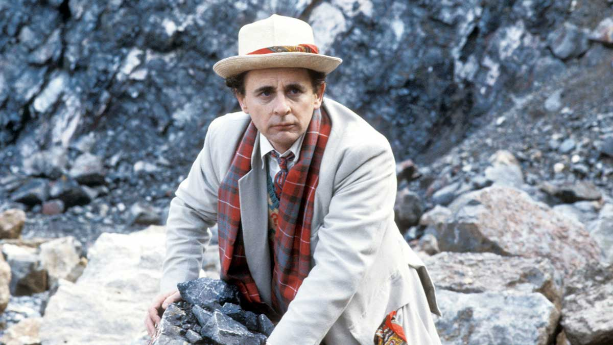 Seventh Doctor Sylvester McCoy