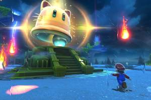 Super Mario 3D World + Bowser's Fury launches in stores, in Nintendo eShop on Nintendo Switch and on Nintendo.com on Feb. 12 at a suggested retail price of $59.99.