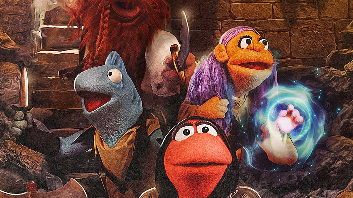 Stuff of Legends D&D puppets