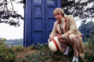 Peter Davison as the Fifth Doctor (BBC)