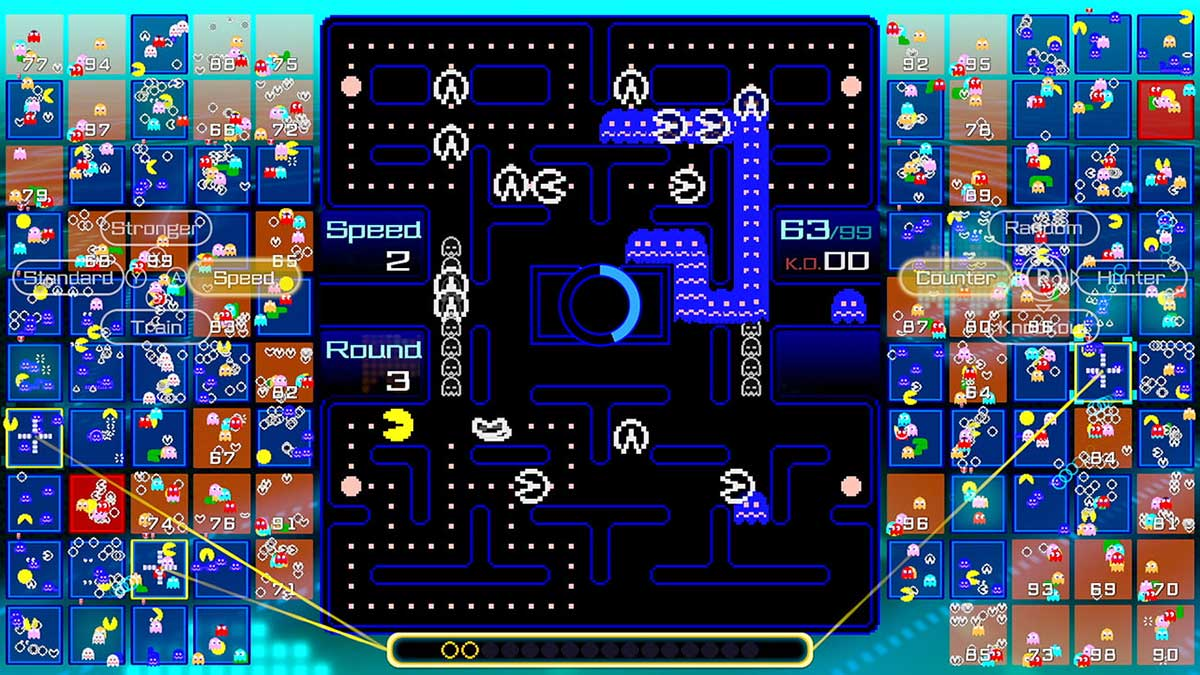 PAC-MAN 99 free for Nintendo Switch Online subscribers