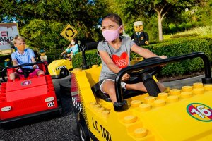 Legoland California Resort welcomed visitors back on April 15, but only those who live within a 120-mile radius of the park. (Photo courtesy of Legoland)