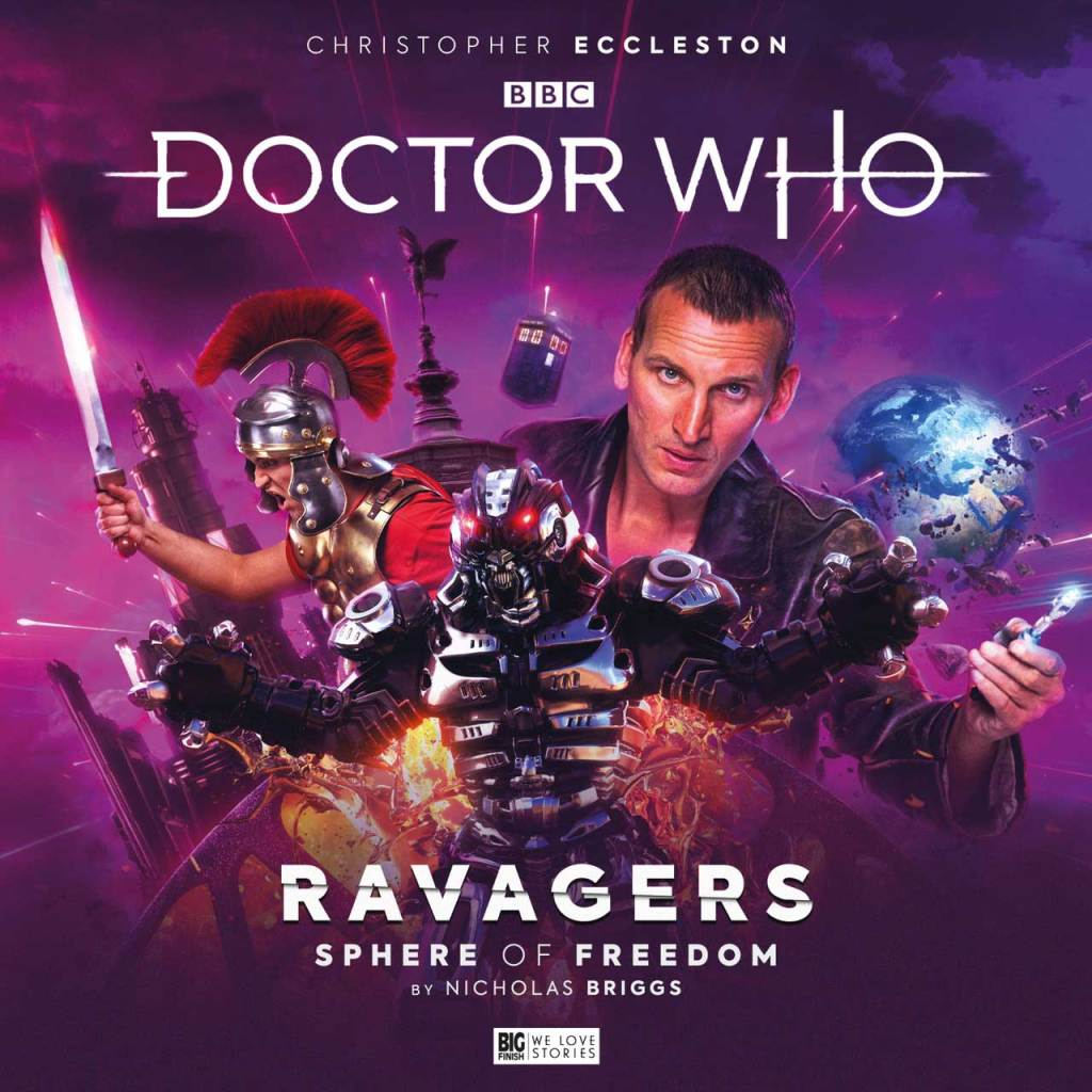 Doctor-Who - Ravagers - Sphere of Freedom