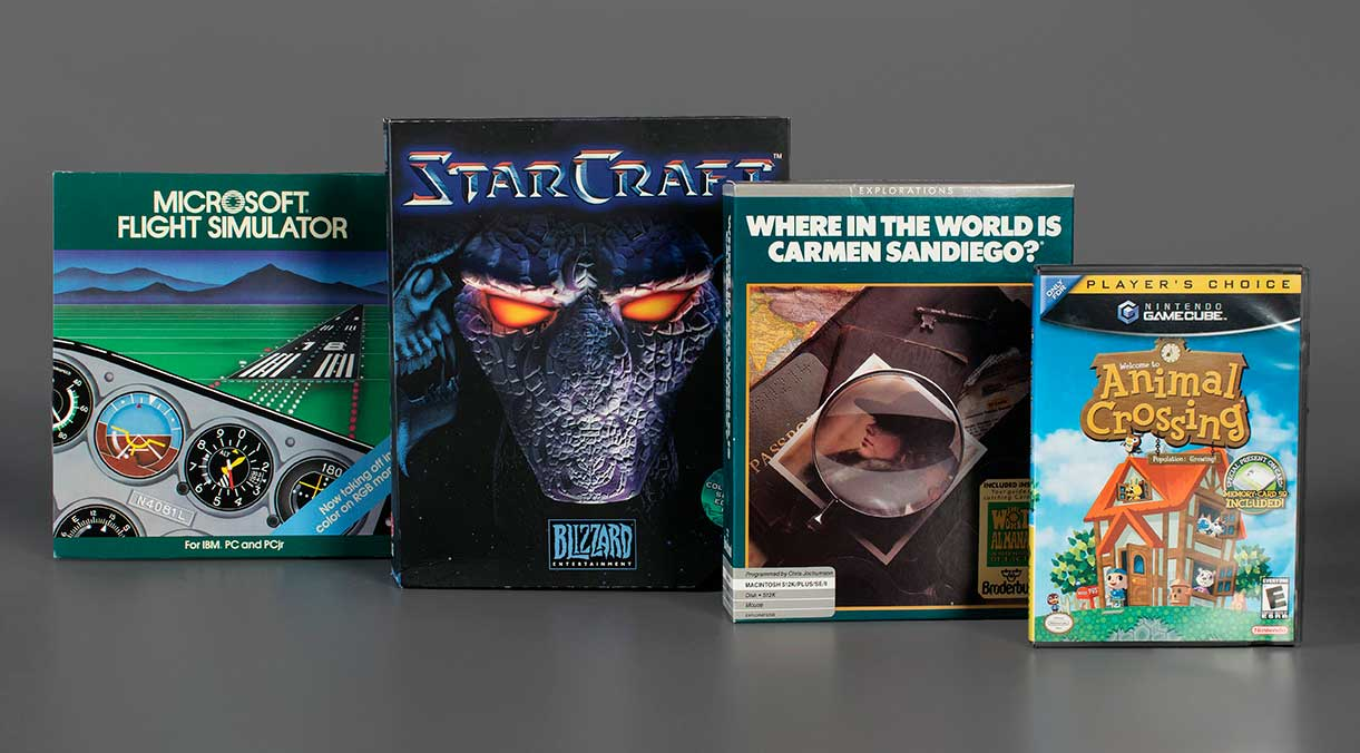 Animal Crossing, Carmen Sandiego in Video Game Hall of Fame