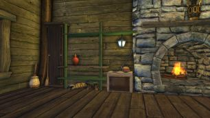 Rift Tavern kitchen stove