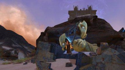 rift starfall prophecy broken head statue