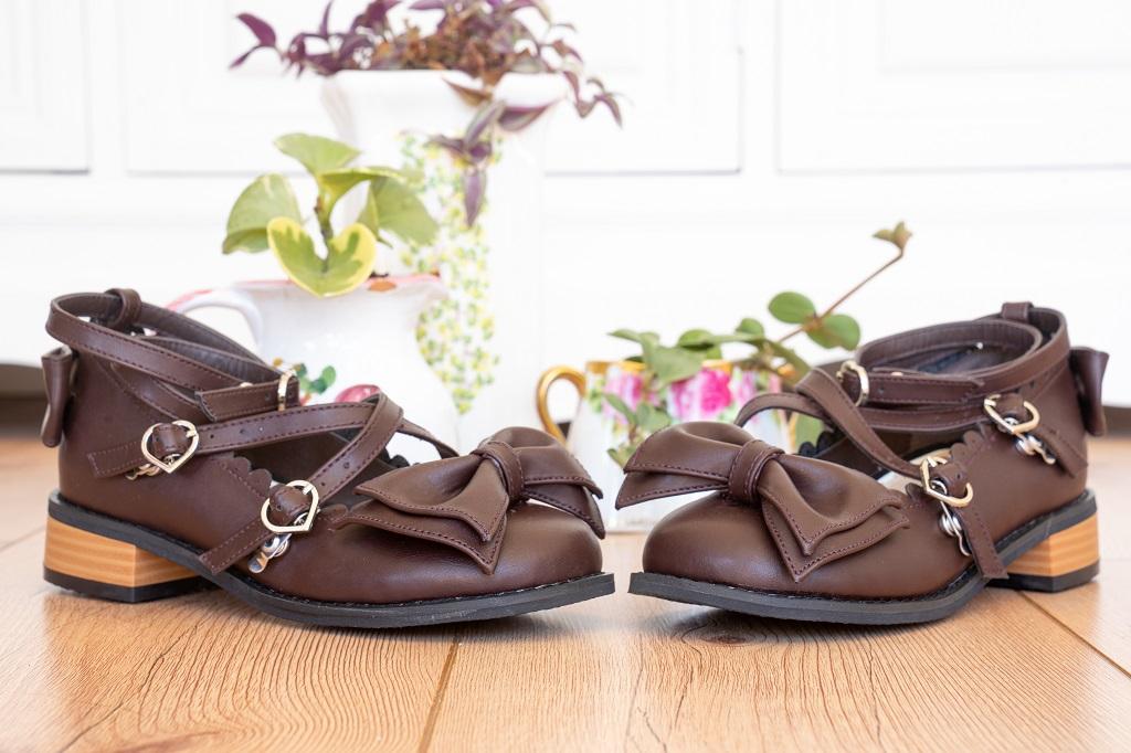 Lolita Mode Schuhe Tea Party