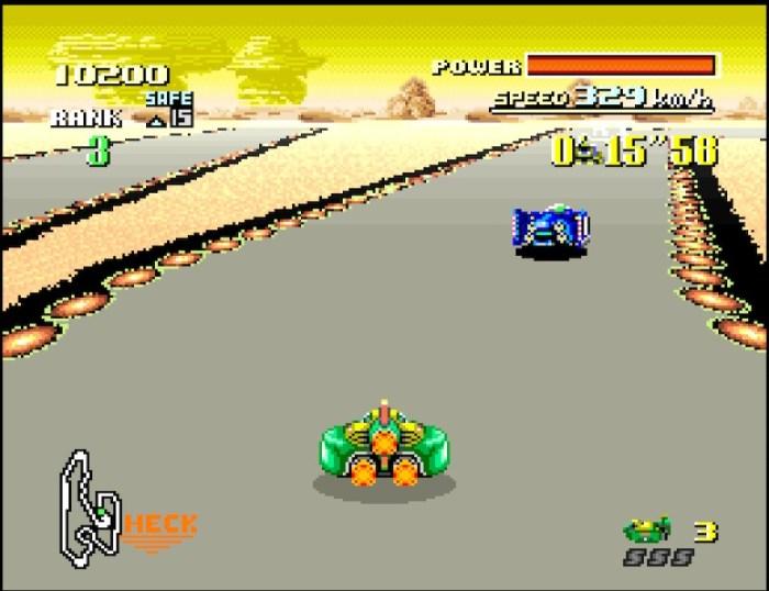 F-Zero Rennen Sand Ocean