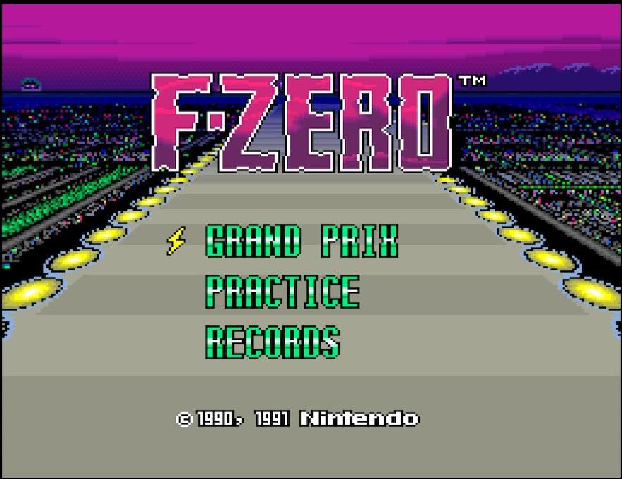 F-Zero Titelbild