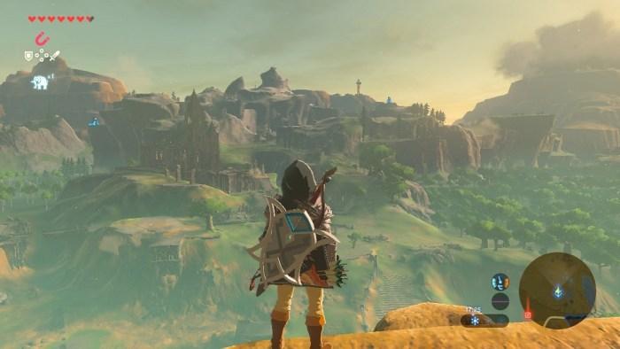 Zelda Breath of the Wild Grafik Vergleich Genshin Impact