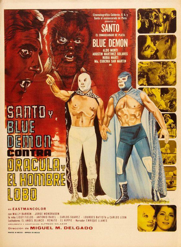 Cinemosity 137 – El Santo y Blue Demon vs Dracula y El Hombre Lobo
