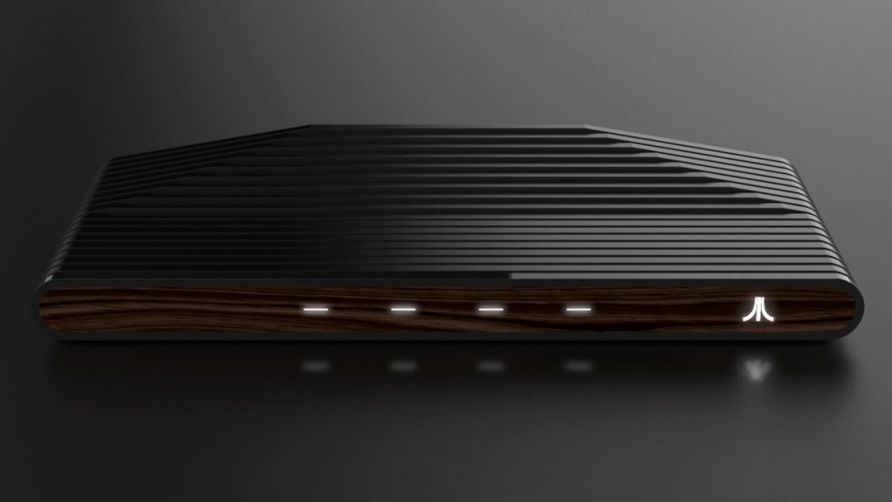 A concept image for the new Ataribox console.