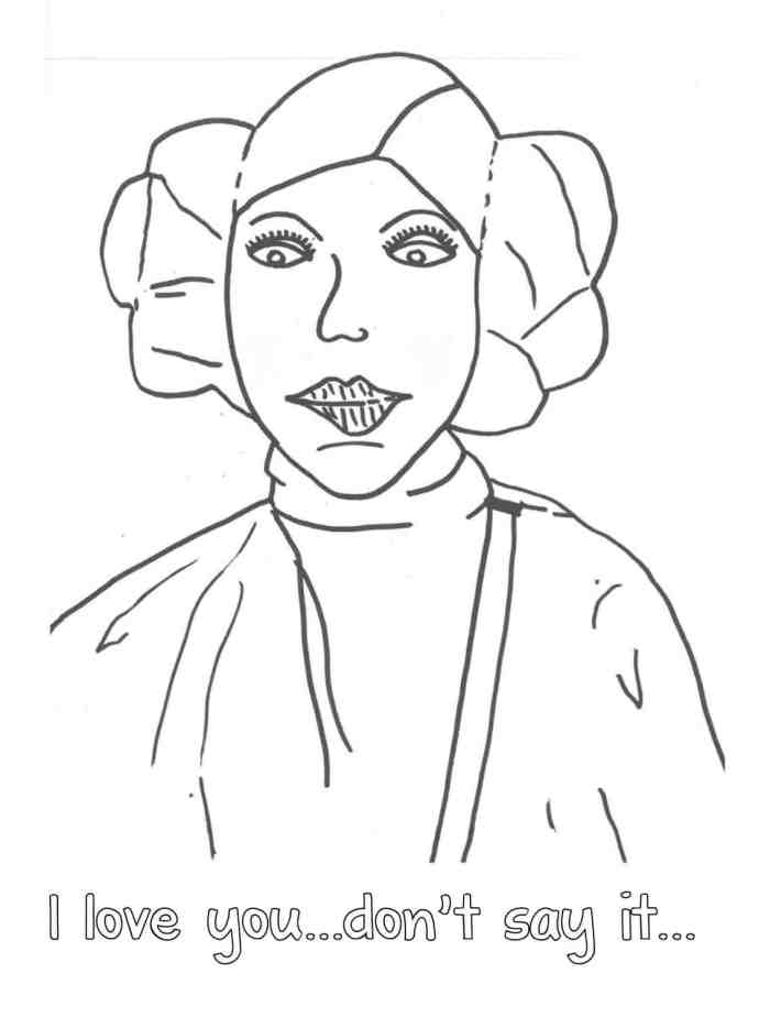 princess leia coloring pages free princess leia mask coloring