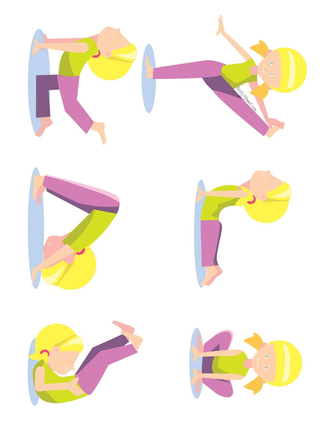 6 Yoga Poses Toddlers Can Do With A Free Printable