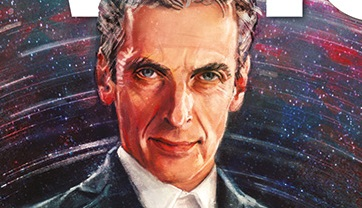 First Look At The Cover Art For Doctor Who The Twelfth Doctor From