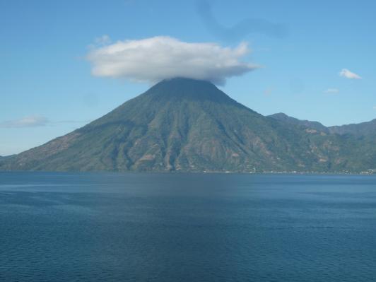 Volcano in Antigua, Guatemala.