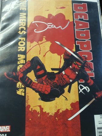 Deadpool & The Merc$ for Money Vol. 1 #4 Signed – Declan Shalvey First Print Bagged & Boarded NM