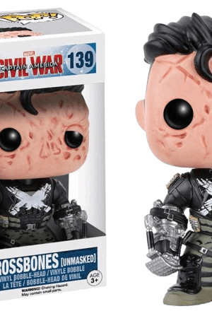 Crossbones Unmasked – Captain America Civil War #139 POP! Vinyl