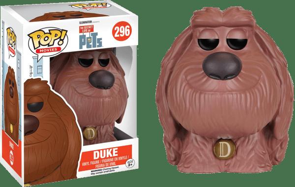 Duke – The Secret Life Of Pets #296 Pop! Vinyl