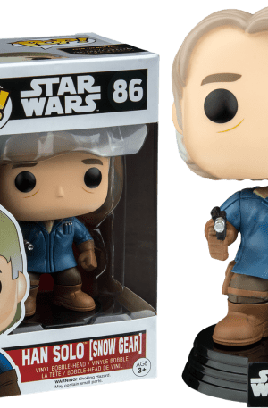 Han Solo (Snow Gear) – Star Wars Force Awakens #86 Exclusive Pop! Vinyl
