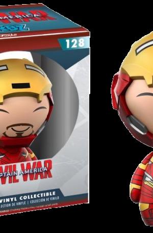 Iron Man (Unmasked) – Captain America: Civil War #128 Exclusive Collector Corps Dorbz