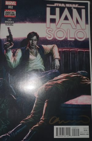 Star Wars: Han Solo First Print #02 Signed Lee Bermejo NM Bagged & Boarded