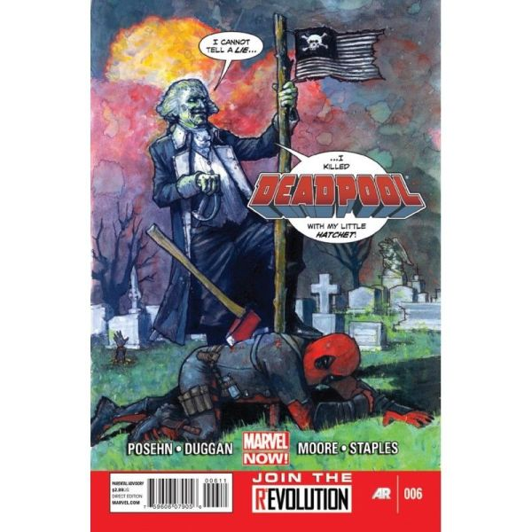 Deadpool (2013) #06 First Edition Bagged & Boarded NM
