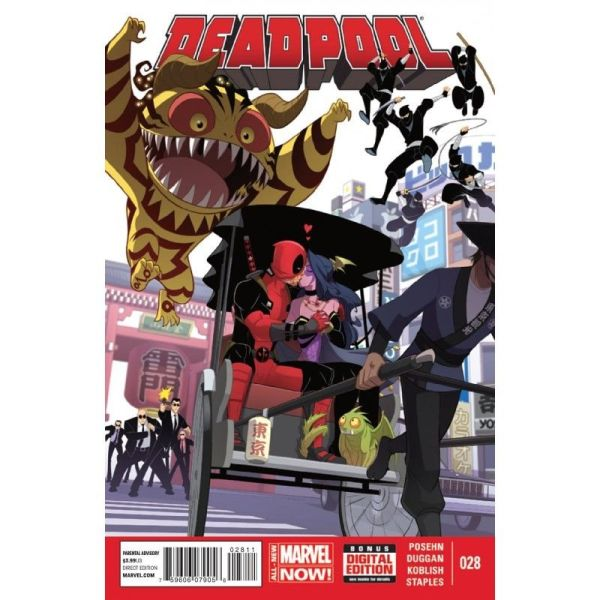 Deadpool (2014) #28 First Edition Bagged & Boarded NM