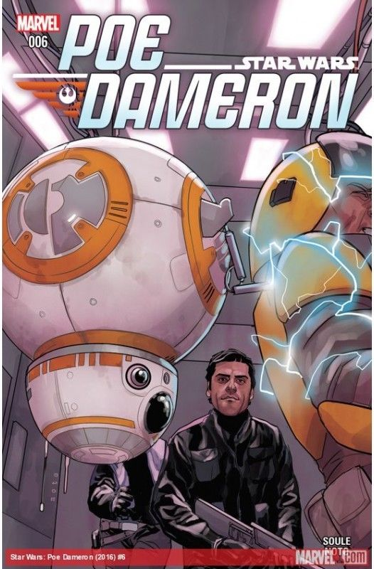 Star Wars: Poe Dameron #6 First Print NM Bagged & Boarded