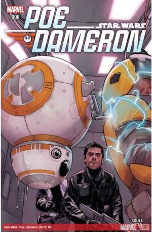 Star Wars: Poe Dameron #6 First Print NM Bagged & Boarded