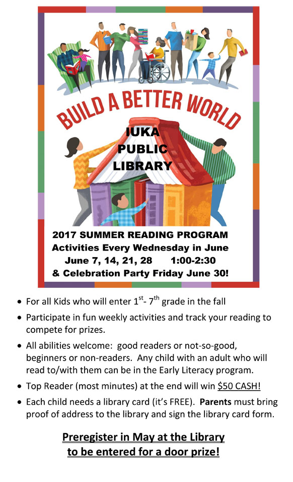 Iuka Summer Reading Program,