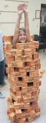 Iuka Summer Reading Program Giant Jenga