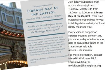 Library Day Capitol 2018