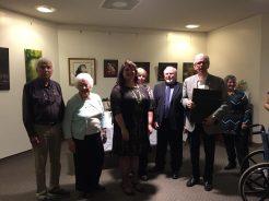 William McMullin retirement ceremony