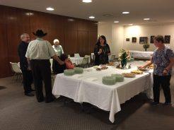 Event preparation - William McMullin retirement ceremony