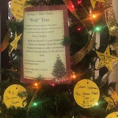 "The George E. Allen Library ""Wish"" Tree 🎄 Booneville"