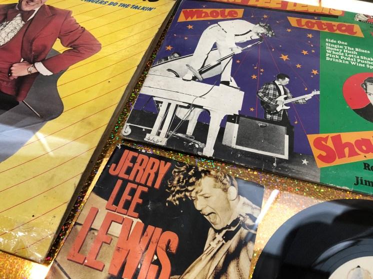 Jerry Lee Lewis memorabilia