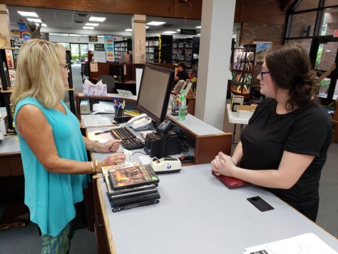 Snapshot Day at Iuka Library, August 6, 2019