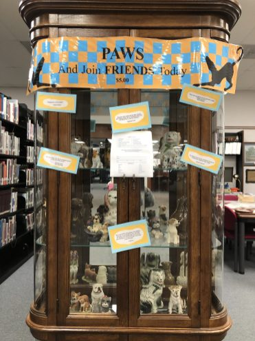 PAWS on display at the Iuka Library