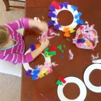 Turkey Ring Toss Family Activity