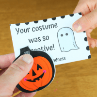 Suggested Family Activity • Halloween 🎃 Kindness Cards