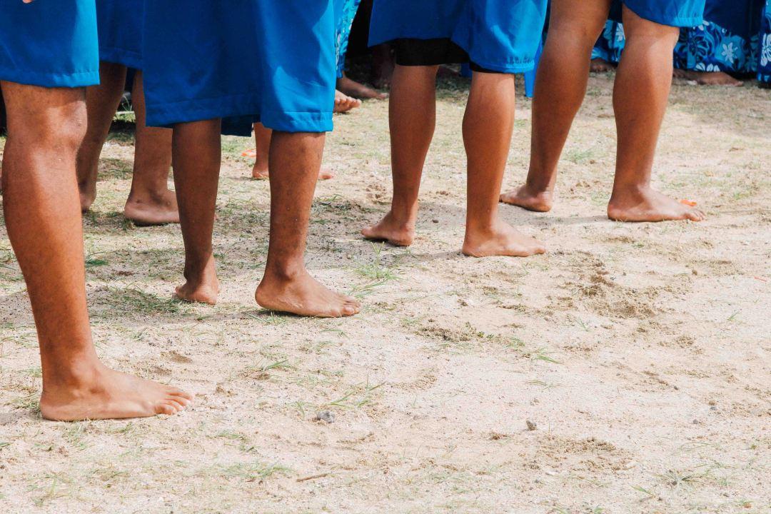 Samoan Feet at Coastweeks 2016