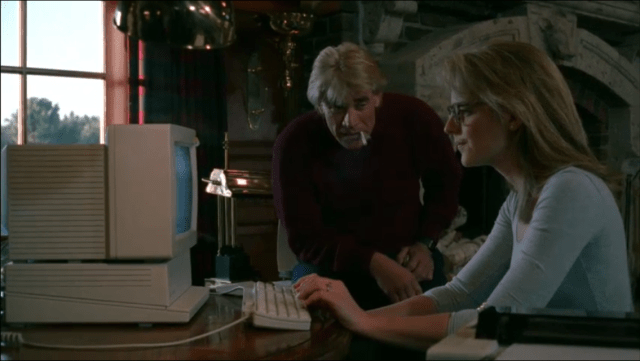 Dig that ancient computer, also, the glasses are adorable Helen. I hope you kept them!