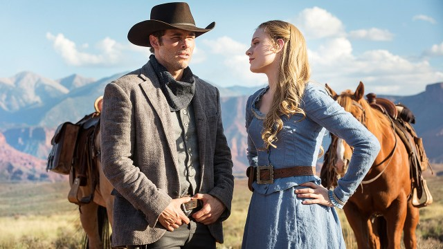 They are just 2 robots in Westworld, trying to fall in love and not get shot (or worse) by the guests...